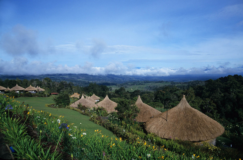 Ambua Lodge in Central Highlands, PNG